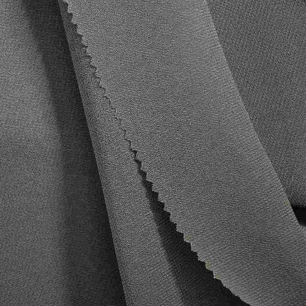 PEBBLE 200 / GRAY 313 / 100% Polyester Pebble Georgette
