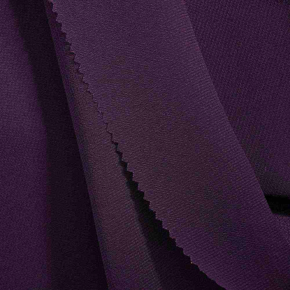 PEBBLE 200 / EGGPLANT 287 / 100% Polyester Pebble Georgette
