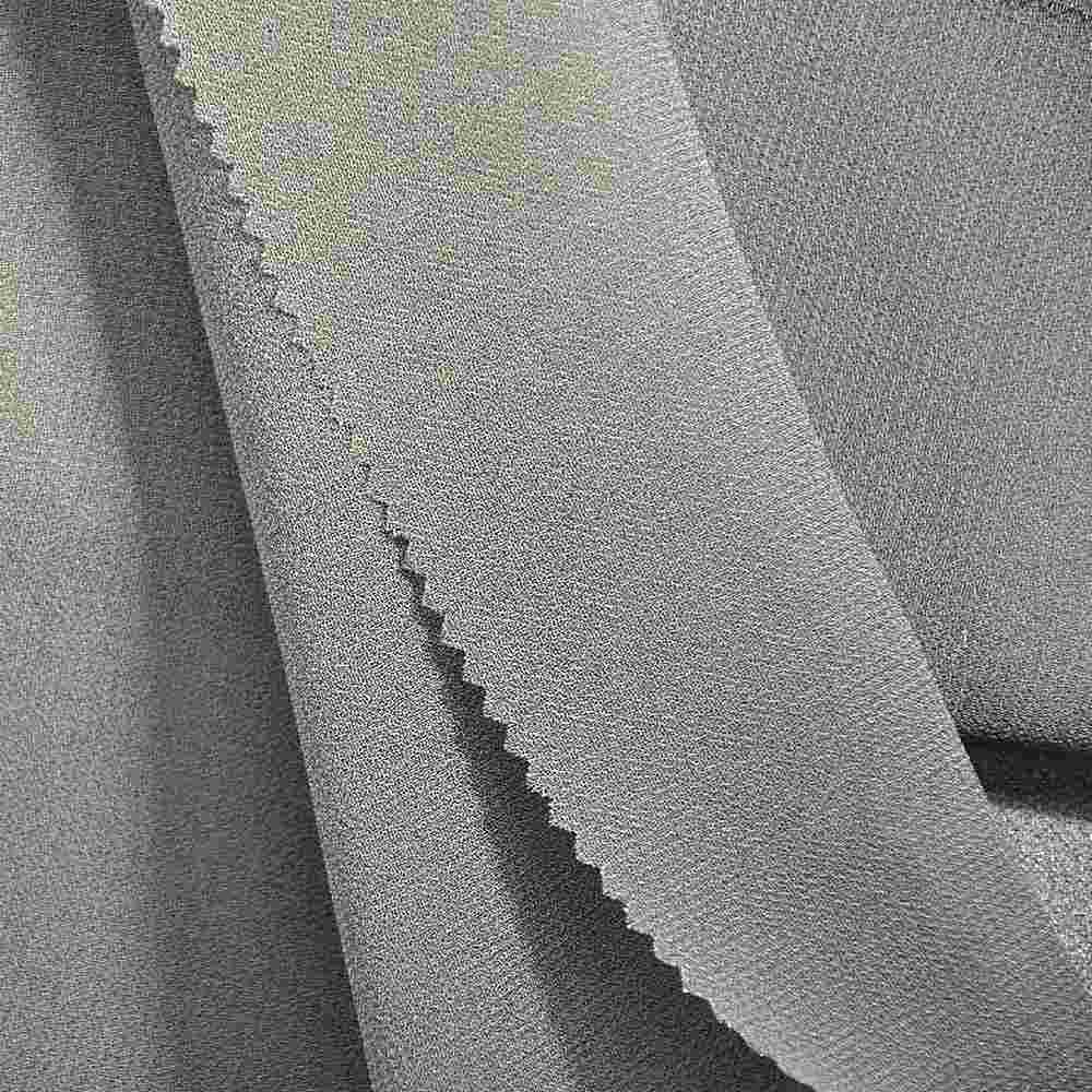 PEBBLE 200 / SILVER 309 / 100% Polyester Pebble Georgette