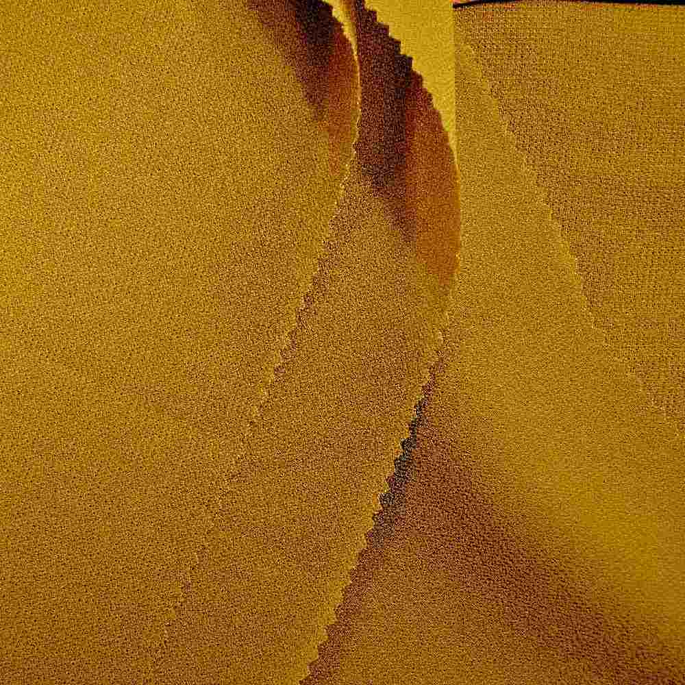 <h2>PEBBLE 200</h2> / GOLD 323        / 100% Polyester Pebble Georgette