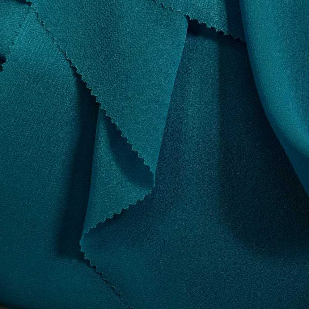 PEBBLE 200 / AQUA 135 / 100% Polyester Pebble Georgette