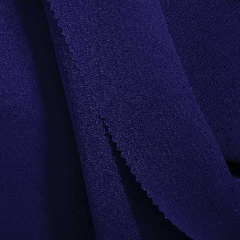 PEBBLE 200 / ROYAL 148 / 100% Polyester Pebble Georgette