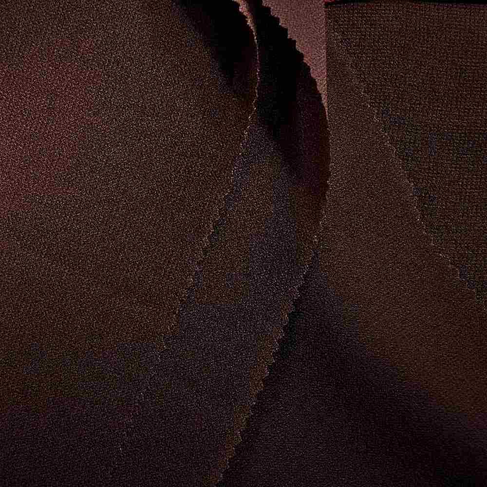 PEBBLE 200 / BROWN 267 / 100% Polyester Pebble Georgette