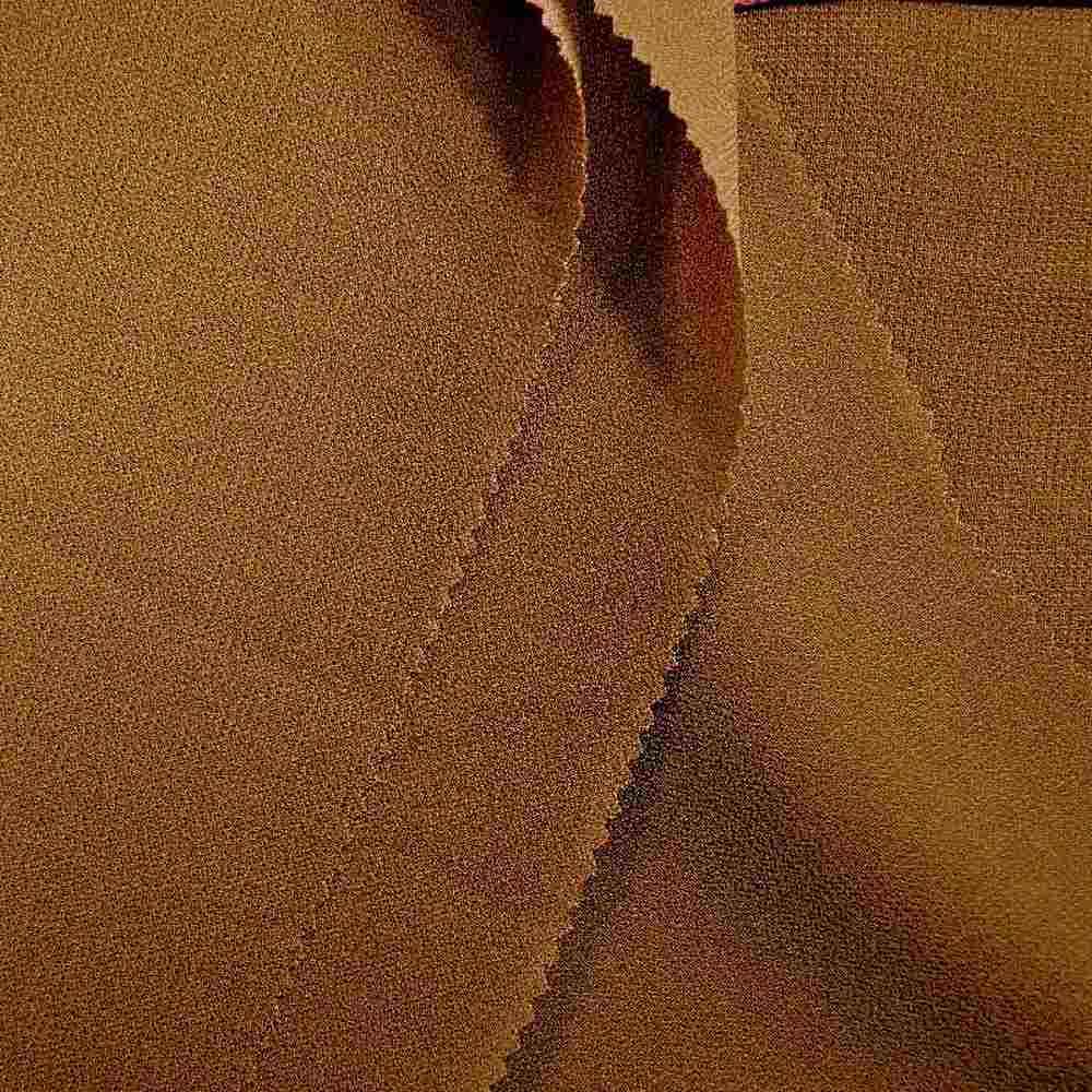 PEBBLE 200 / CAMEL 249 / 100% Polyester Pebble Georgette