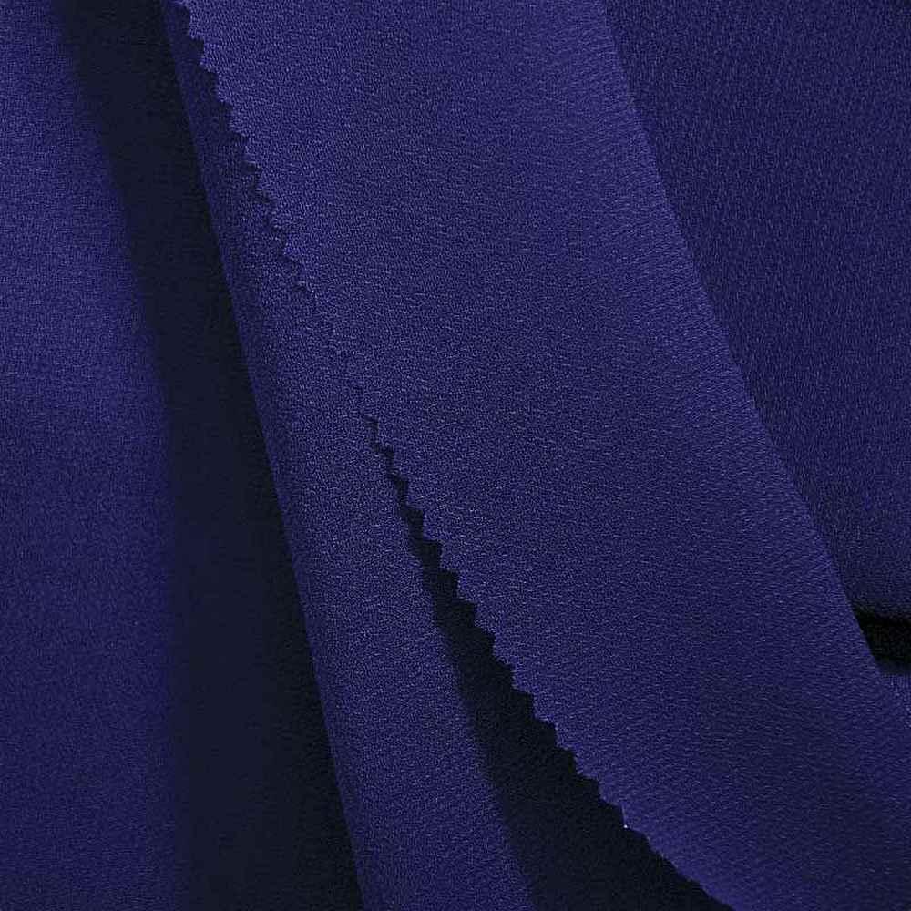 PEBBLE 200 / ROYAL/BLUE 778 / 100% Polyester Pebble Georgette