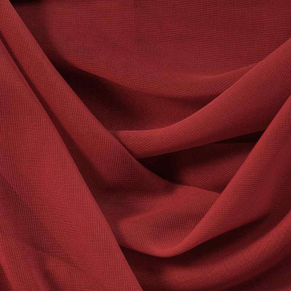CMJ3000 / RED 925 / 100% Polyester Chiffon Matt Jersey