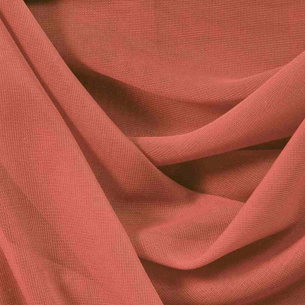 <h2>CMJ3000</h2> / CORAL/L 210     / 100% Polyester Chiffon Matt Jersey