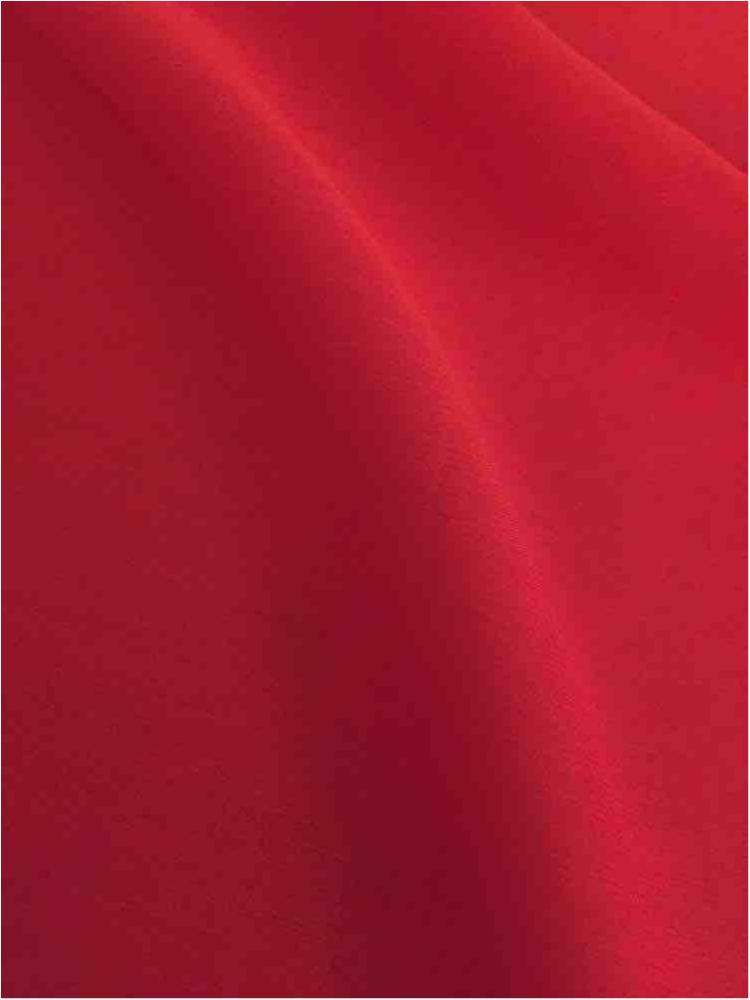 DDCHS 5860 / RED 3790 / DOPE DYED CATATONIC CHIFFON
