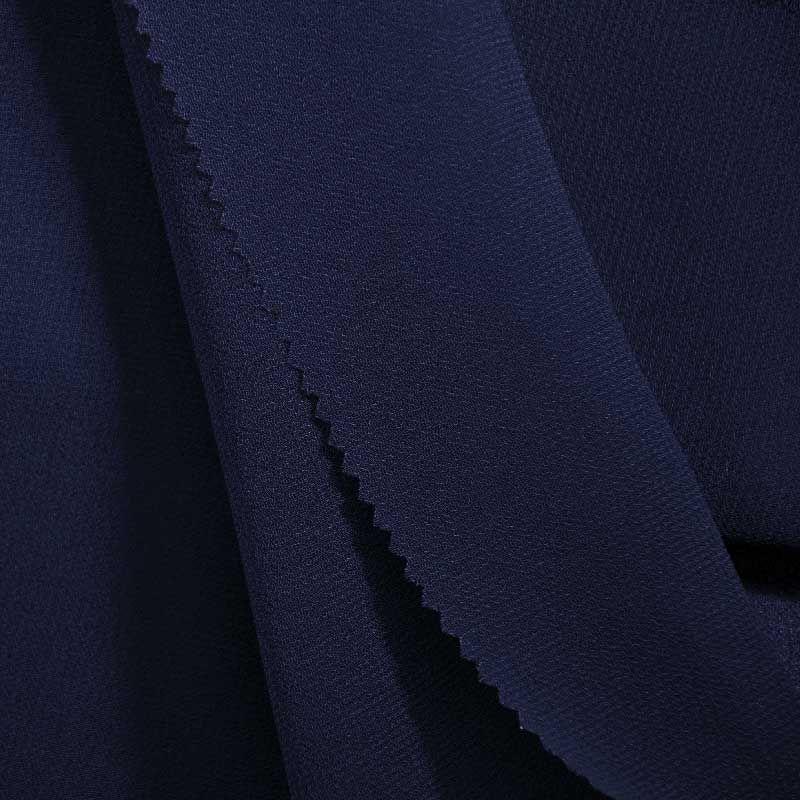 <h2>PEBBLE 200</h2> / NAVY/L 247      / 100% Polyester Pebble Georgette