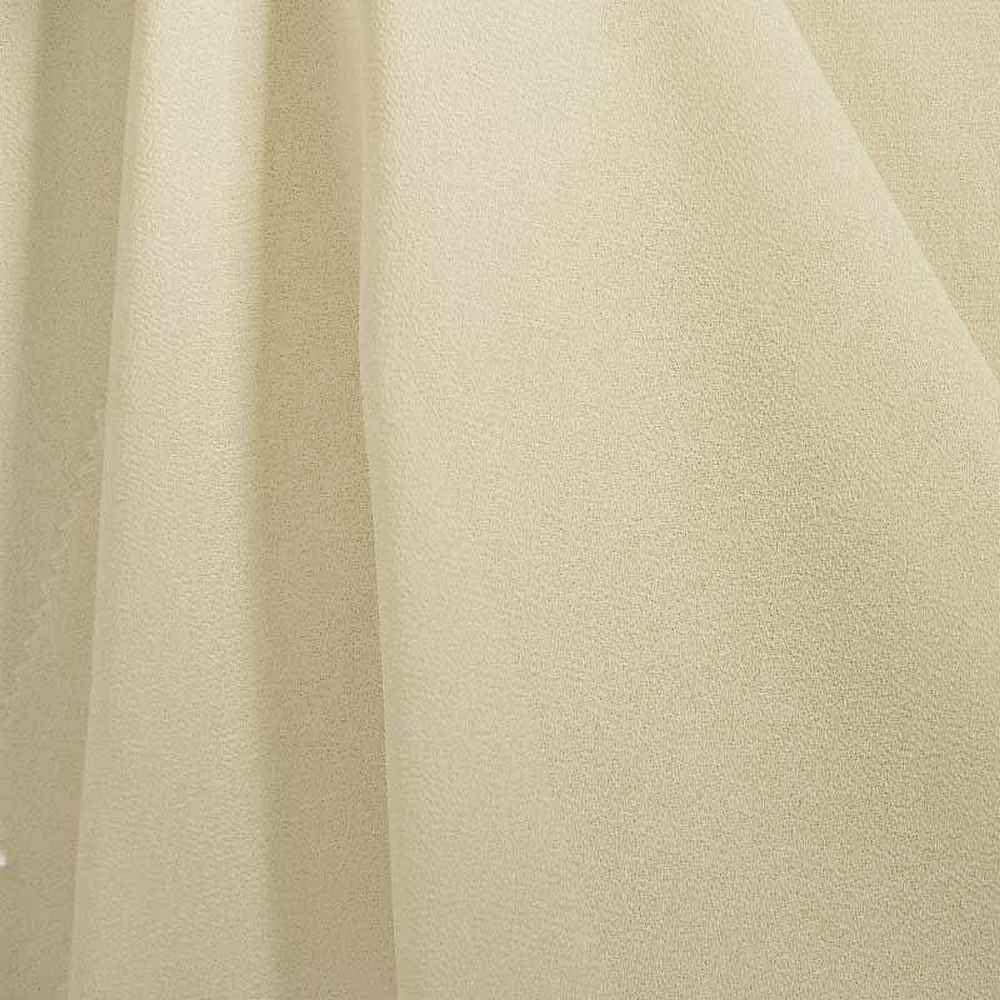 <h2>PEBBLE 200</h2> / IVORY 114       / 100% Polyester Pebble Georgette