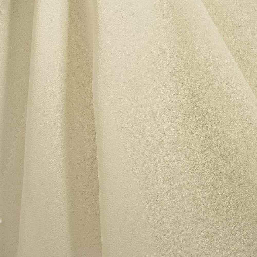 PEBBLE 200 / IVORY 114 / 100% Polyester Pebble Georgette