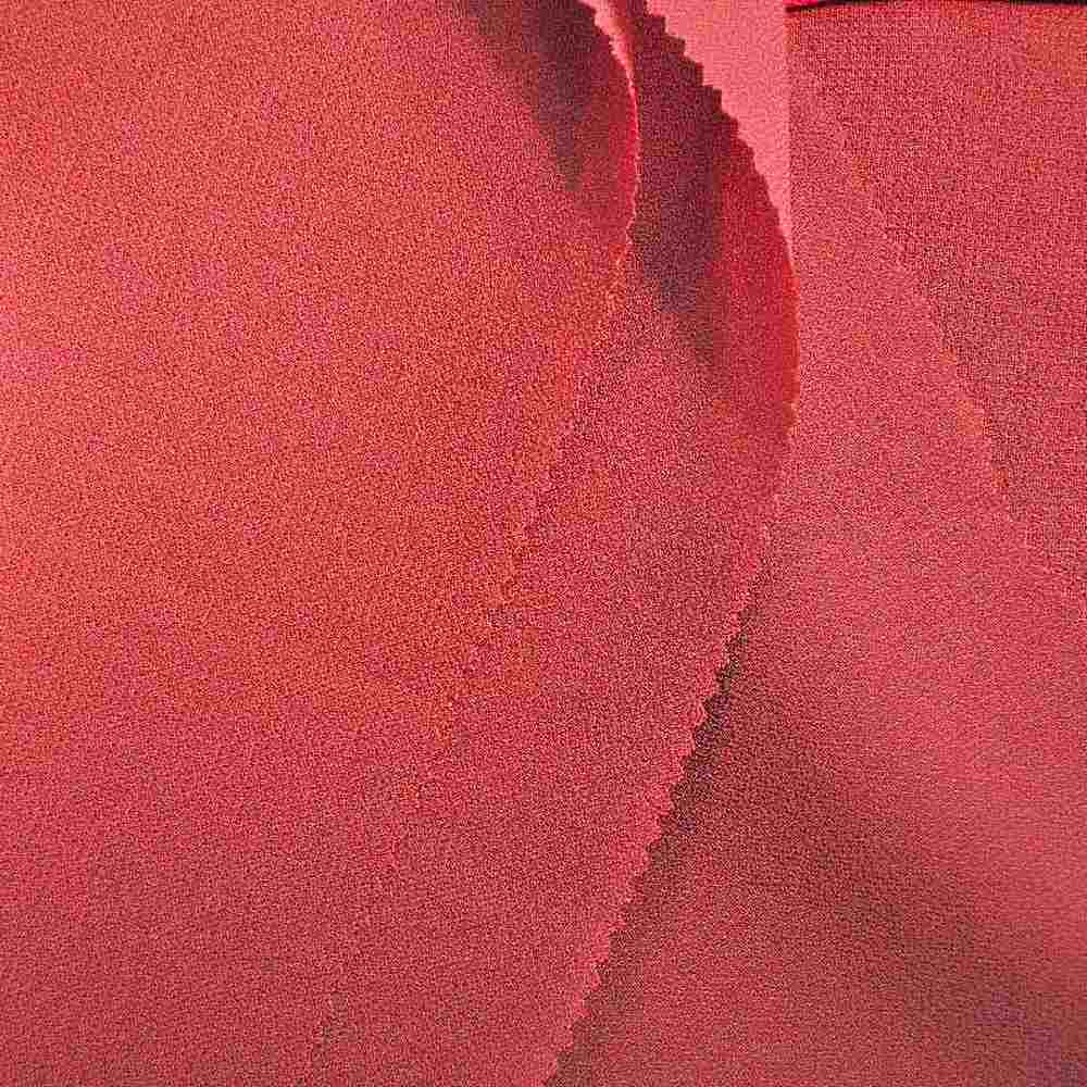 PEBBLE 200 / CORAL/D 218 / 100% Polyester Pebble Georgette