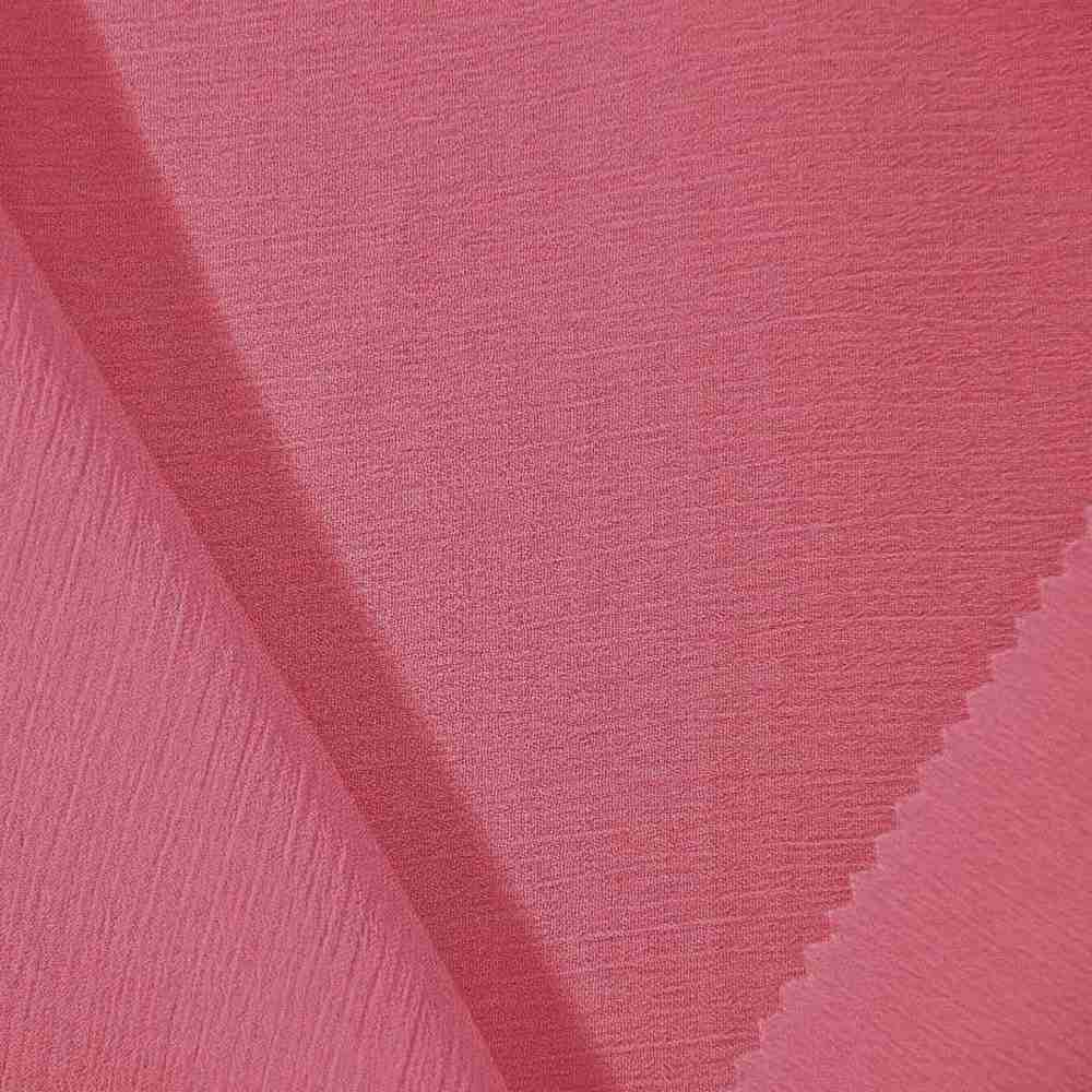<h2>YORYU 060</h2> / CORAL/KISS 616  / 100% Polyester Chiffon Yoryu
