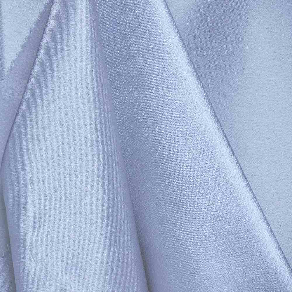 BACK CREPE / BLUE 120 / 100% Polyester Back Crepe Satin