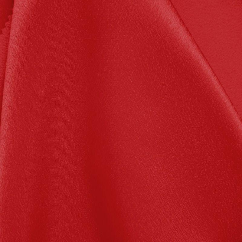 BACK CREPE / RED 192 / 100% Polyester Back Crepe Satin