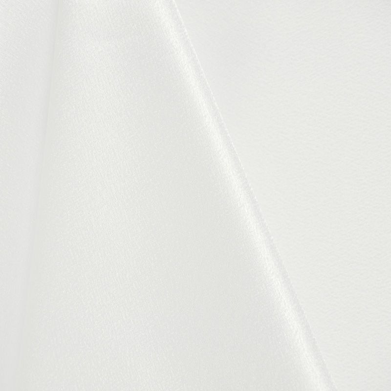BACK CREPE / WHITE / 100% Polyester Back Crepe Satin