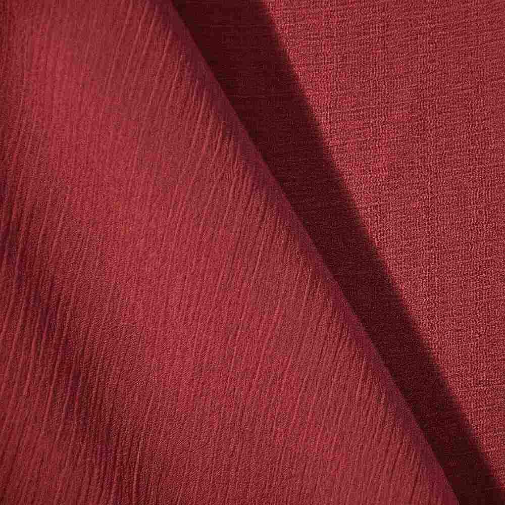 YORYU 060 / RED 392 / 100% Polyester Chiffon Yoryu