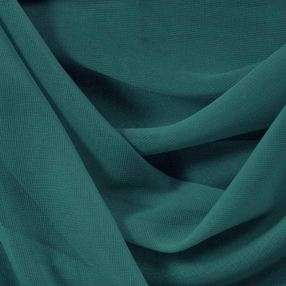 CMJ3000 / TEAL 121 / 100% Polyester Chiffon Matt Jersey