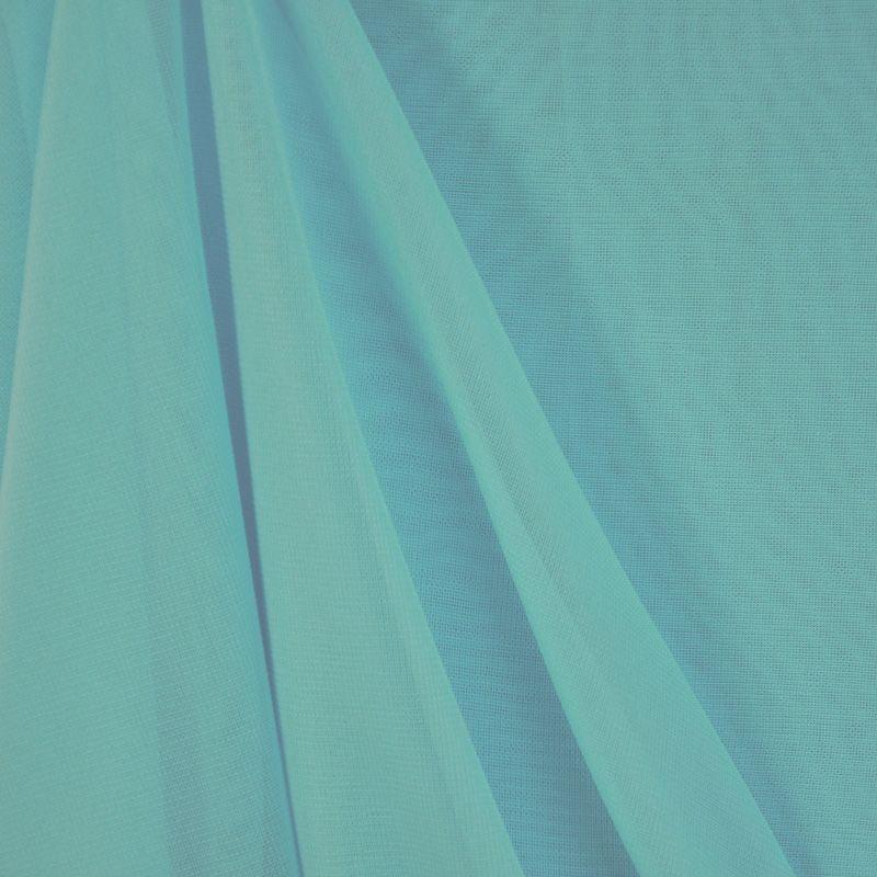 <h2>CMJ3000</h2> / AQUA/L 116      / 100% Polyester Chiffon Matt Jersey