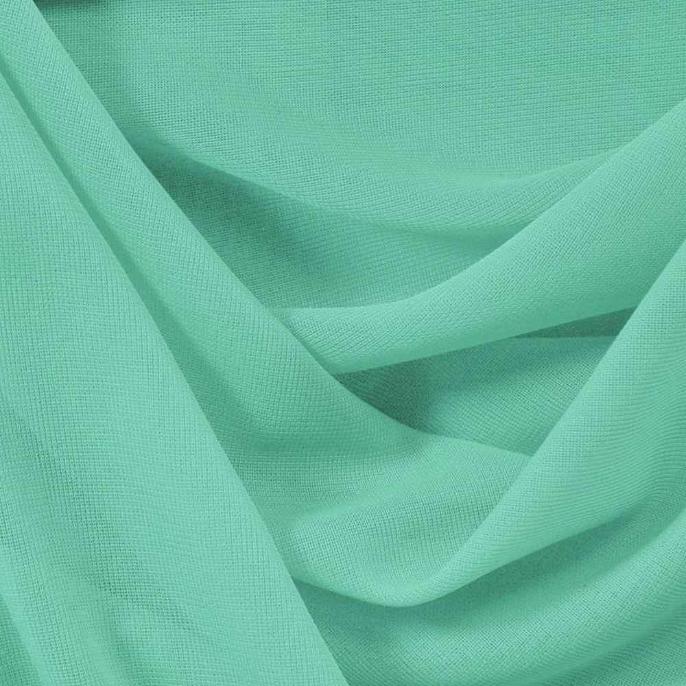<h2>CMJ3000</h2> / TEAL/GREEN 217  / 100% Polyester Chiffon Matt Jersey