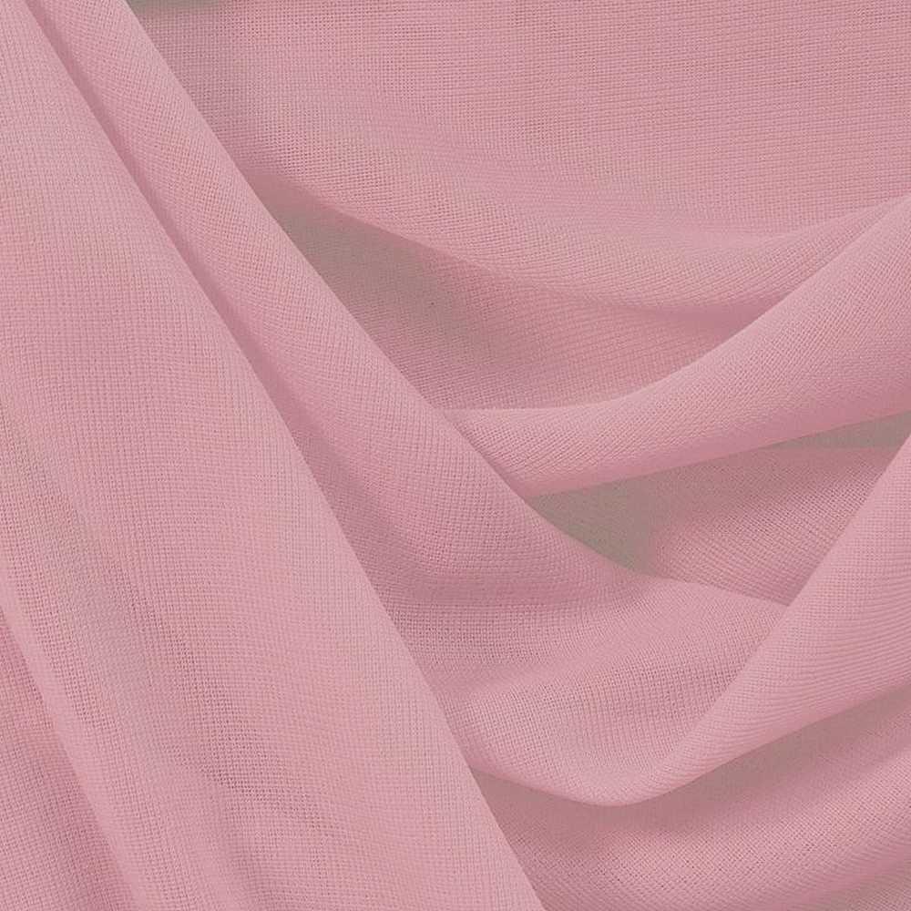 CMJ3000 / ROSE/D 609 / 100% Polyester Chiffon Matt Jersey