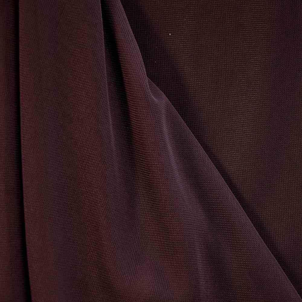 <h2>CMJ3000</h2> / RAISIN 427      / 100% Polyester Chiffon Matt Jersey
