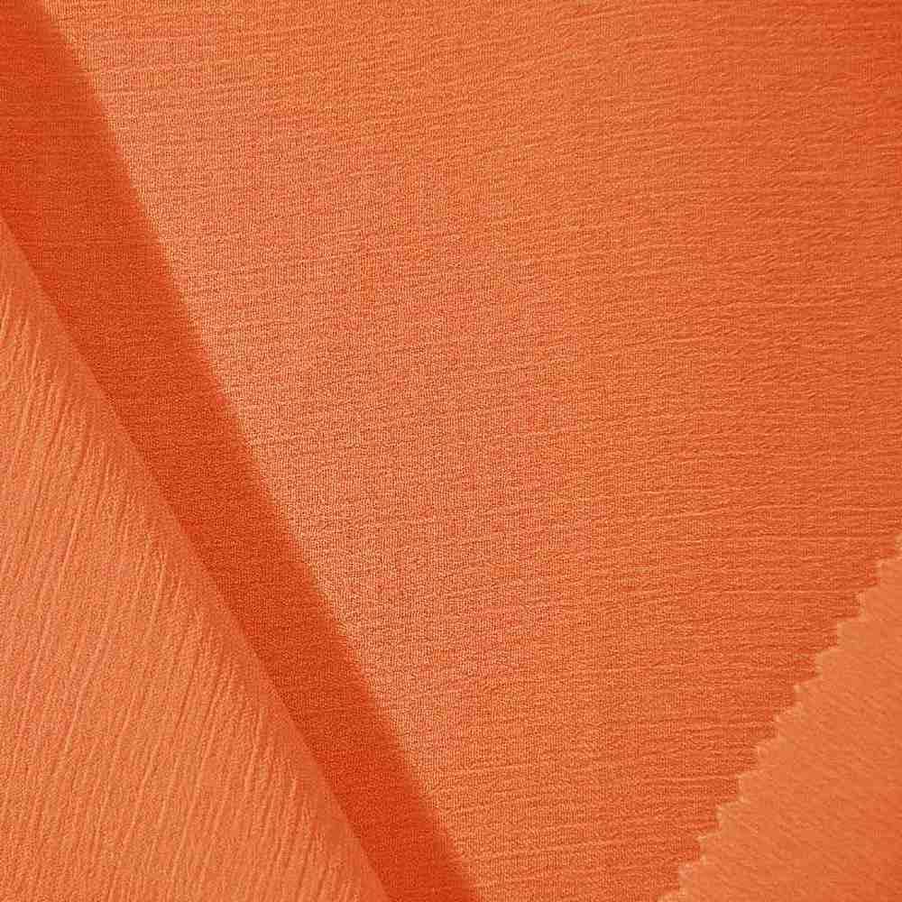 YORYU 060 / RUST 350 / 100% Polyester Chiffon Yoryu