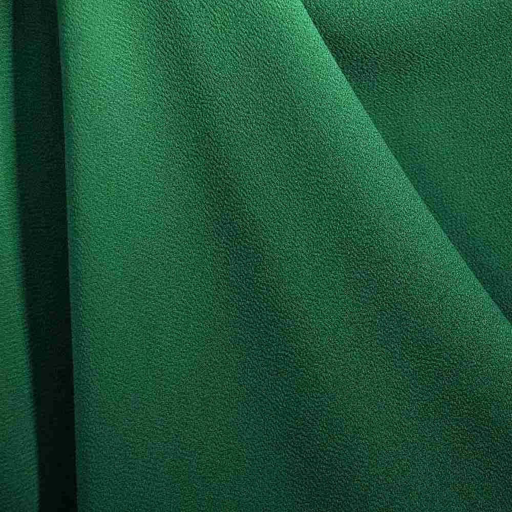 PEBBLE 200 / JADE/GREEN 595 / 100% Polyester Pebble Georgette