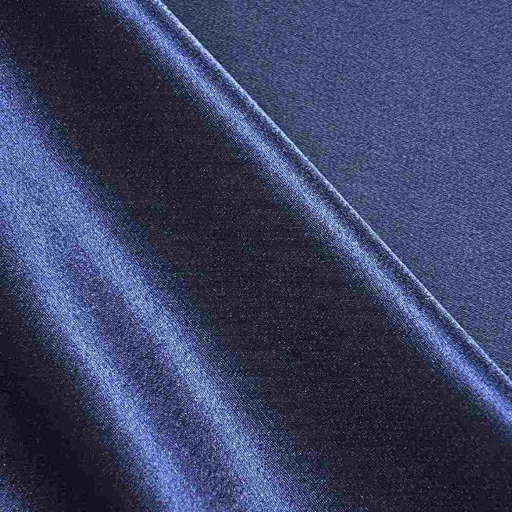 <h2>BACK CREPE</h2> / NAVY/L 247      / 100% Polyester Back Crepe Satin