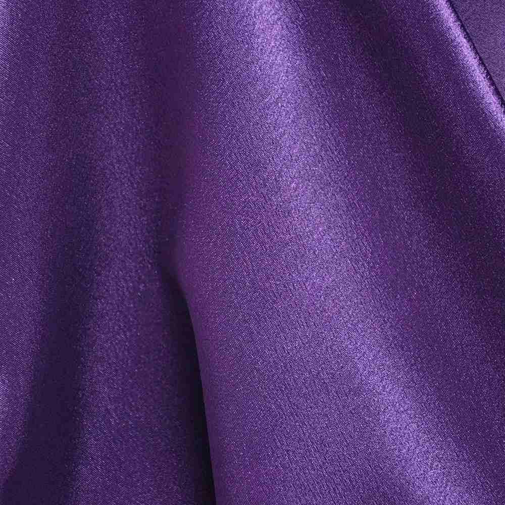 <h2>BACK CREPE</h2> / PURPLE 289                 / 100% Polyester Back Crepe Satin