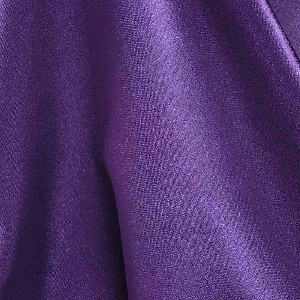 BACK CREPE / PURPLE 289 / 100% Polyester Back Crepe Satin