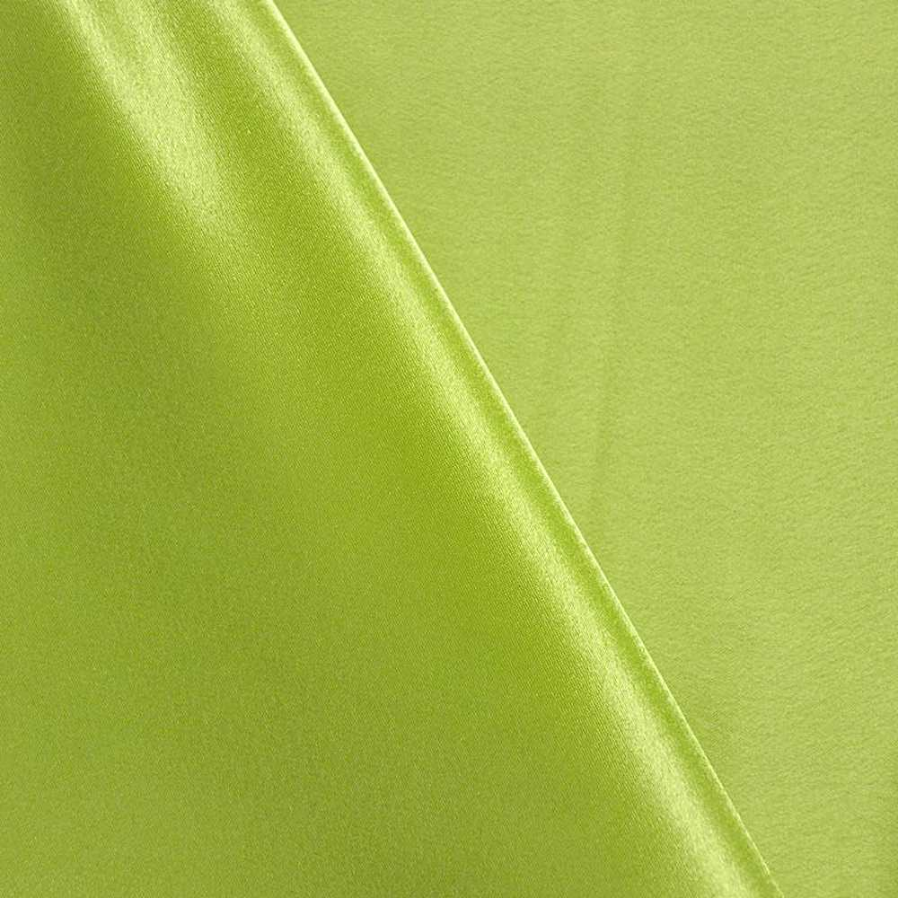 BACK CREPE / LIME 295 / 100% Polyester Back Crepe Satin