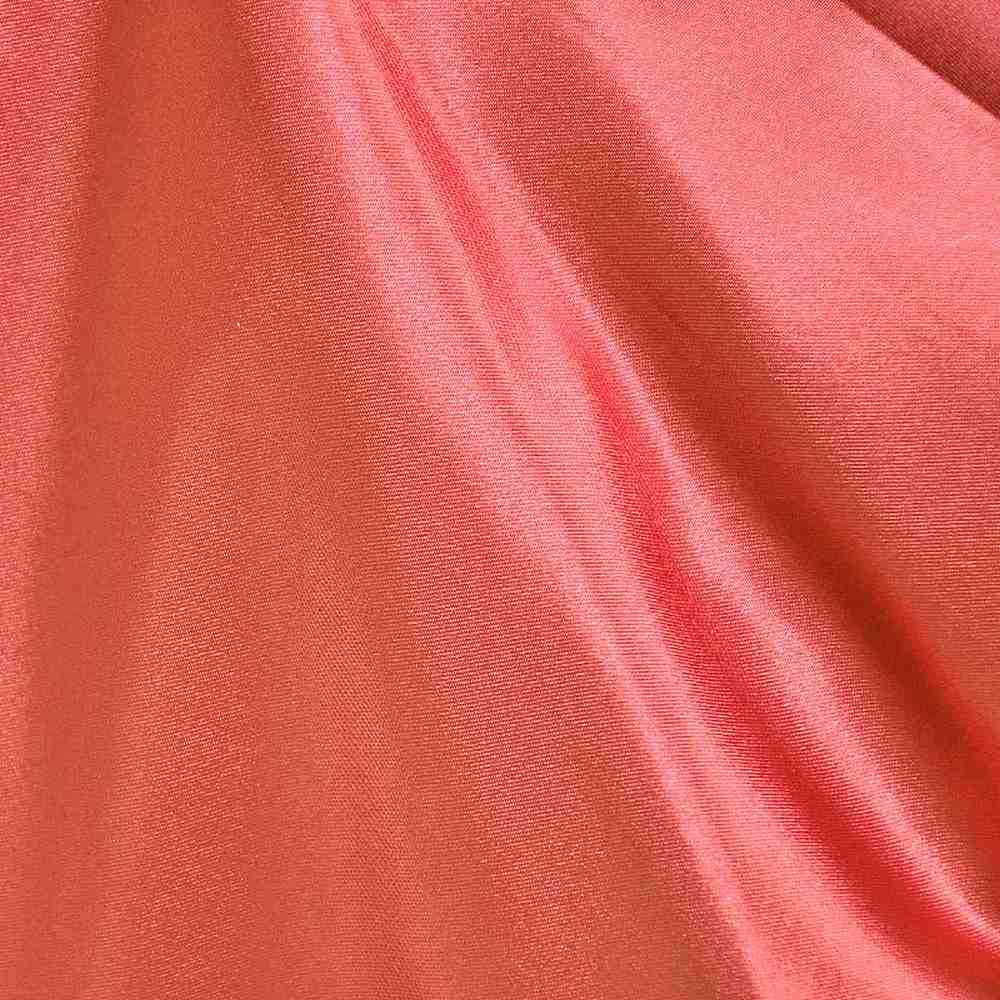 CRM / CORAL/L 201 / 100% Polyester Charmeuse