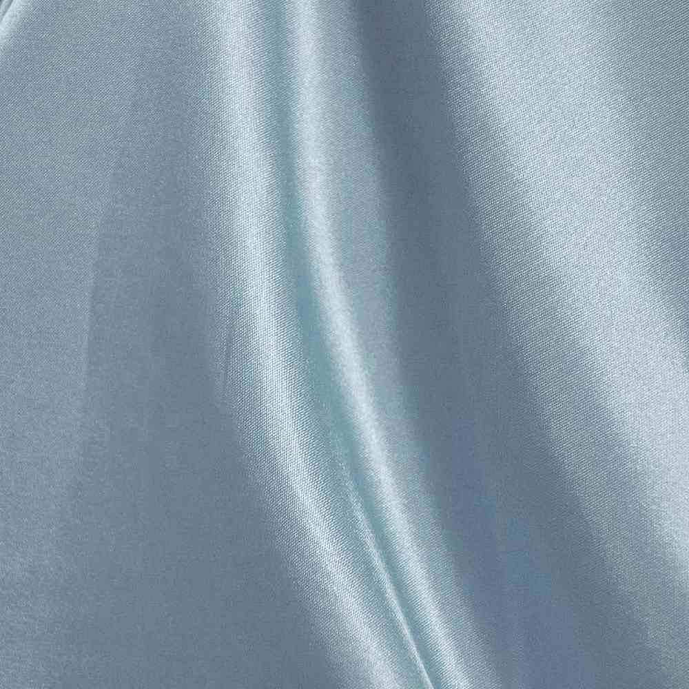 CRM / TURQUOISE 141 / 100% Polyester Charmeuse