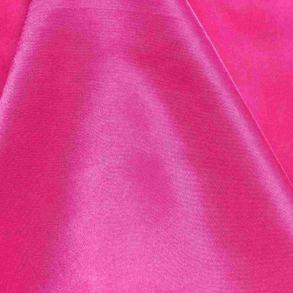 CRM / FUSCHIA 396 / 100% Polyester Charmeuse