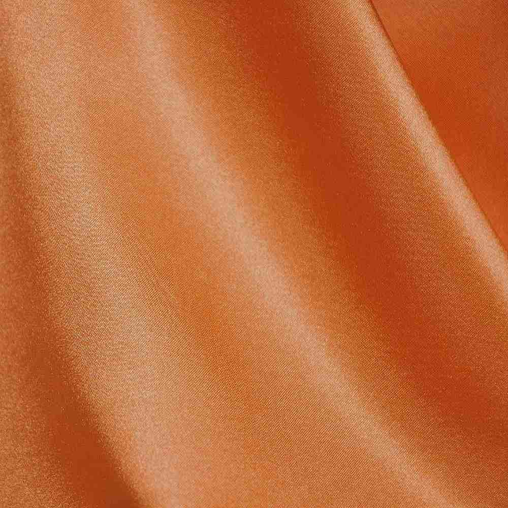 CRM / ORANGE 605 / 100% Polyester Charmeuse