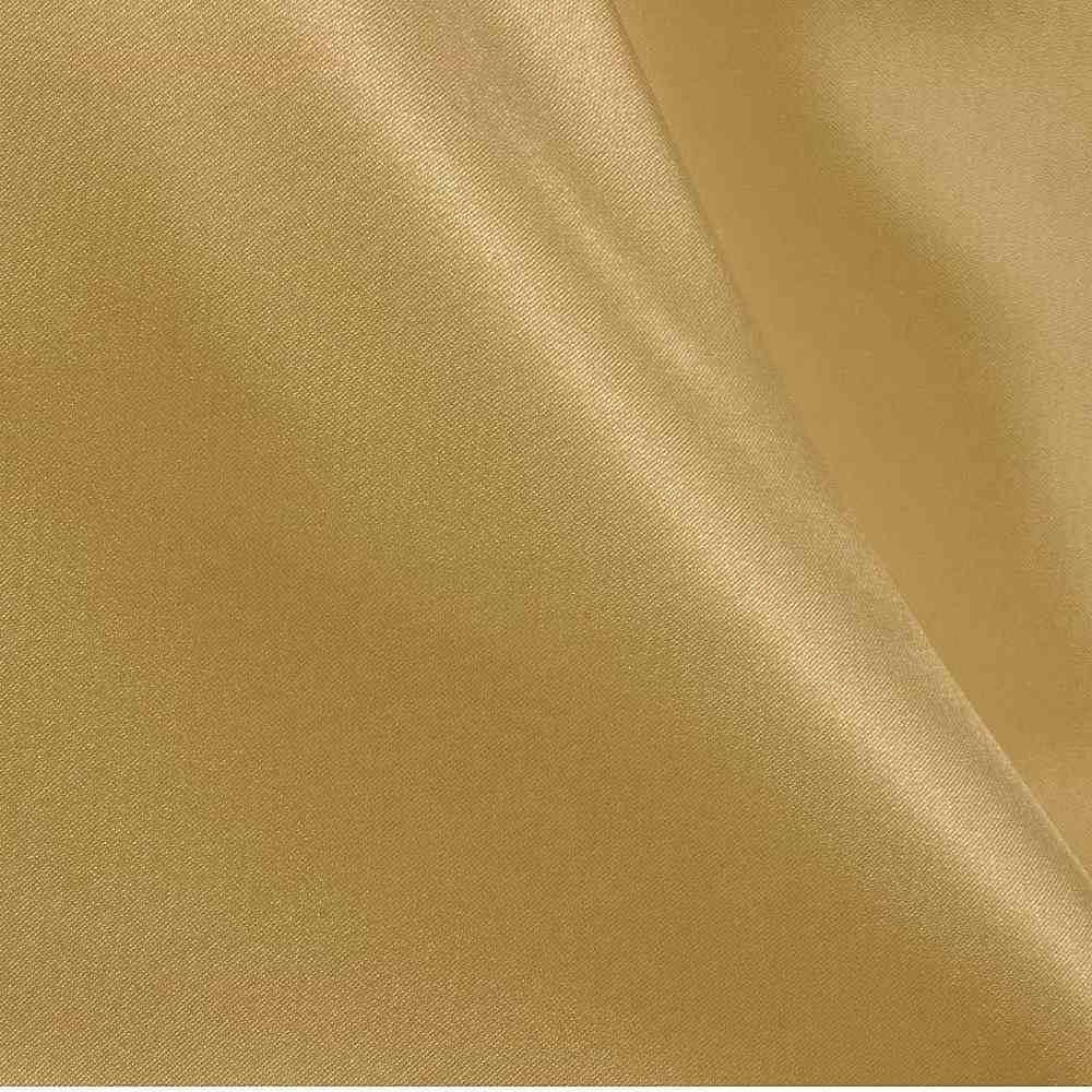 CRM / GOLD 322 / 100% Polyester Charmeuse