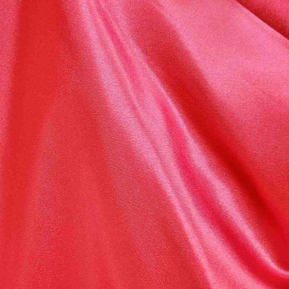 CRM / RED 336 / 100% Polyester Charmeuse