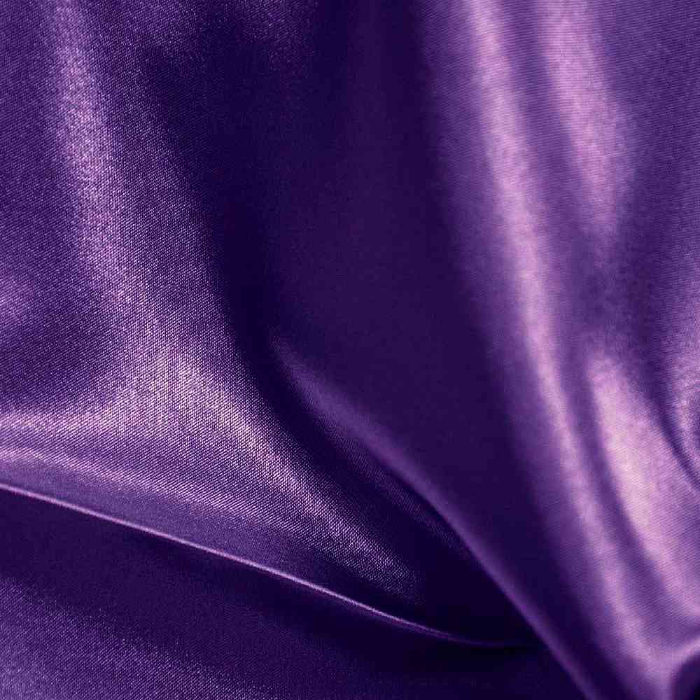 CRM / PURPLE 393 / 100% Polyester Charmeuse