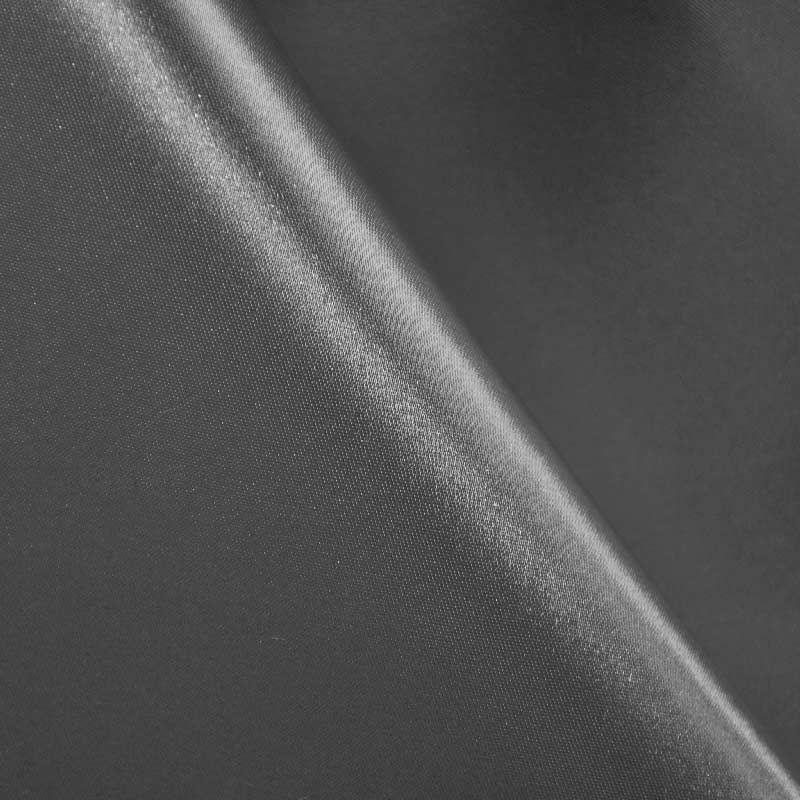 SATIN/POLY 3145 / BLACK / 100% Polyester Bridal Satin