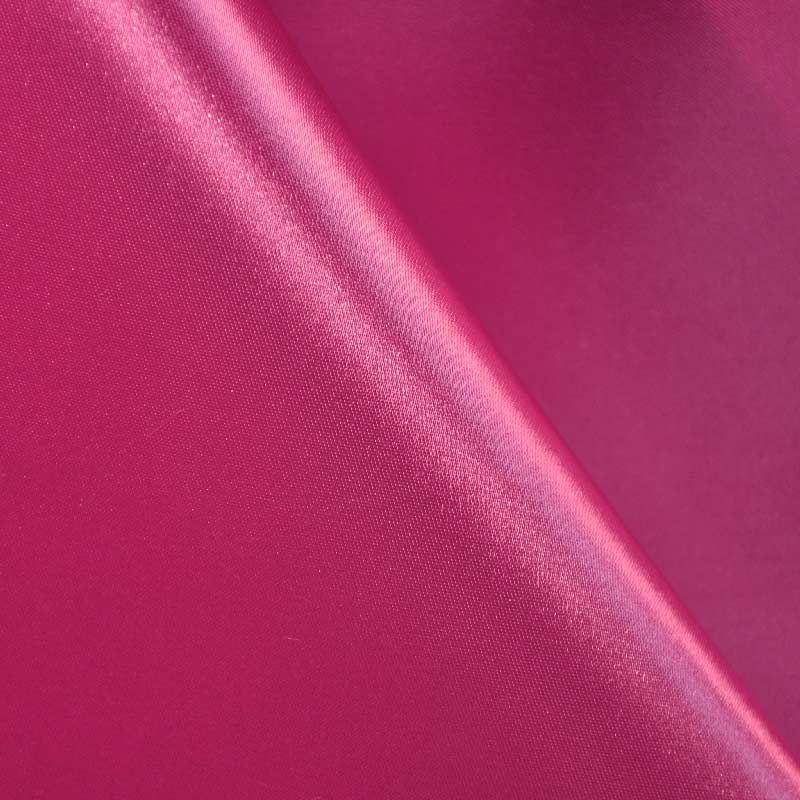 SATIN/POLY 3145 / FUSCHIA 396 / 100% Polyester Bridal Satin