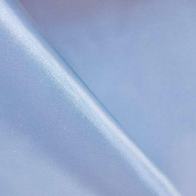 SATIN/POLY 3145 / BLUE 120 / 100% Polyester Bridal Satin
