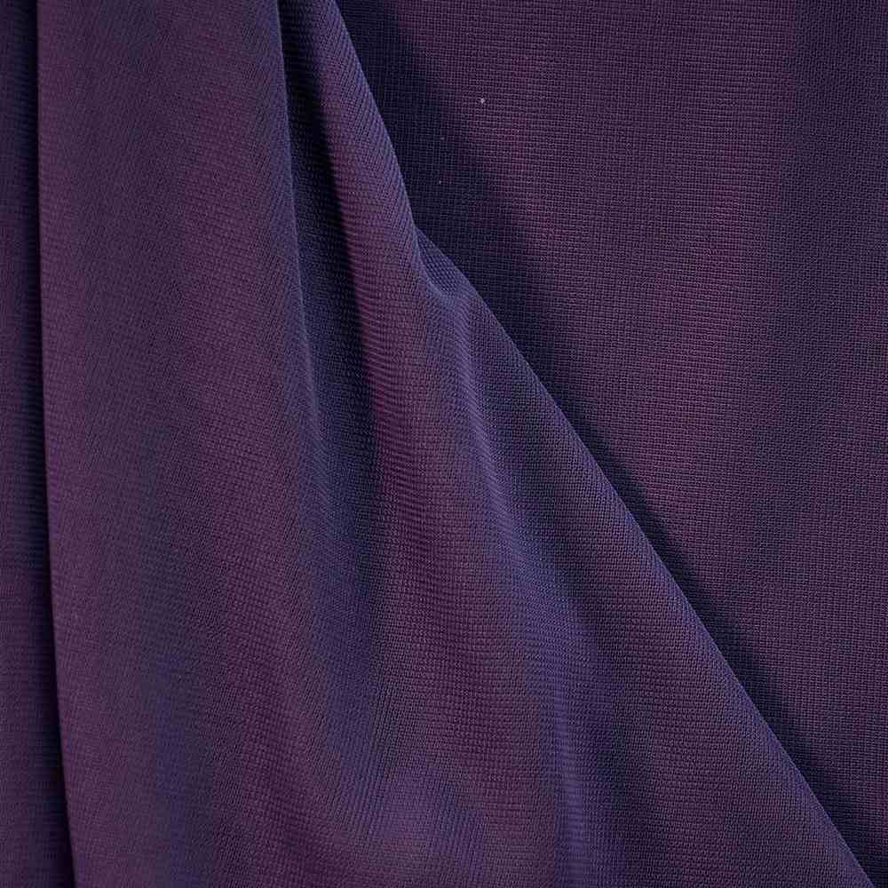 CMJ3000 / PURPLE 654 / 100% Polyester Chiffon Matt Jersey