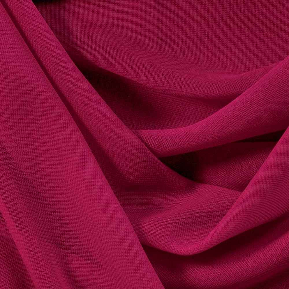 CMJ3000 / FUSCHIA 220 / 100% Polyester Chiffon Matt Jersey