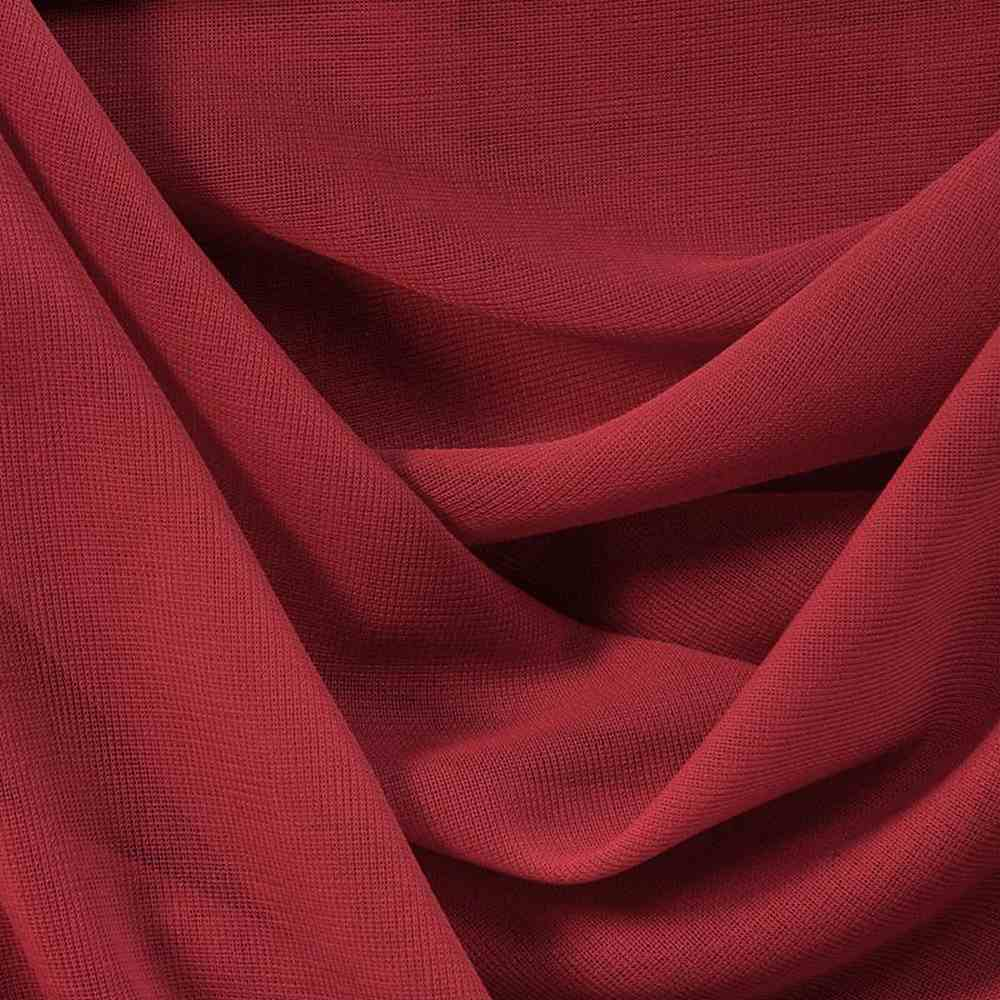 CMJ3000 / RED 190 / 100% Polyester Chiffon Matt Jersey