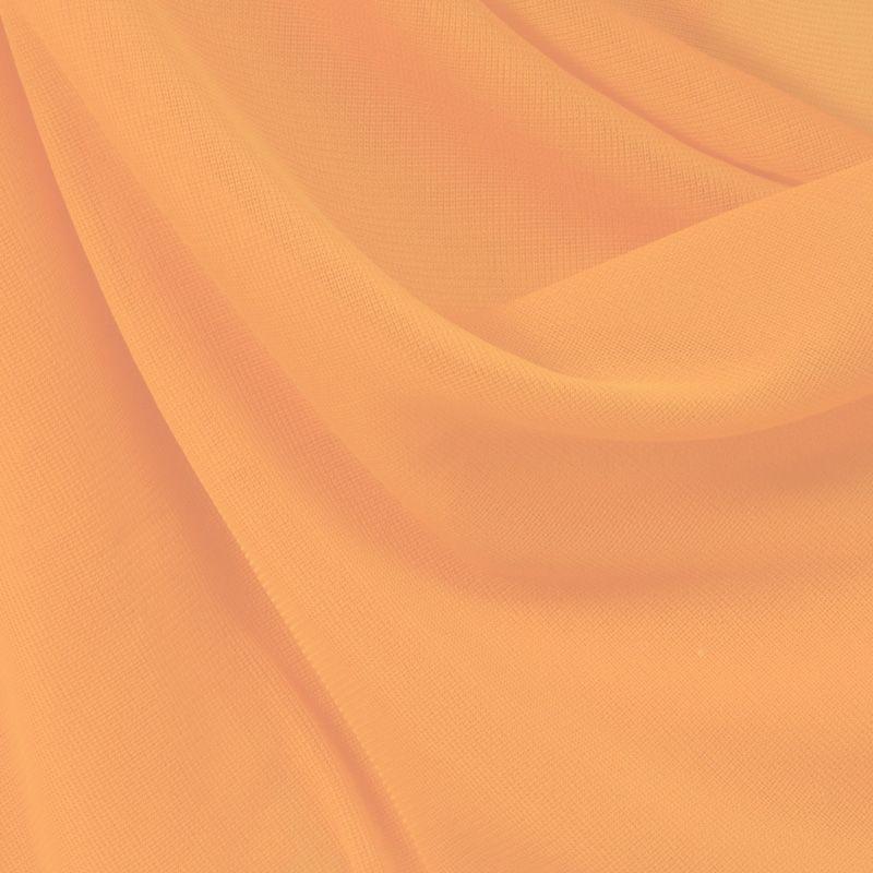 CMJ3000 / ORANGE/L 146 / 100% Polyester Chiffon Matt Jersey