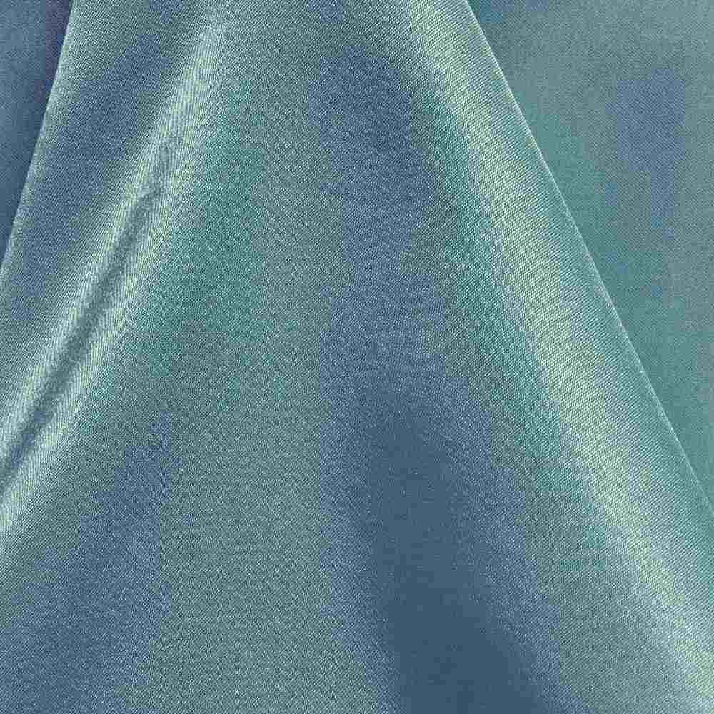 CRM / AQUA/MIST 034 / 100% Polyester Charmeuse
