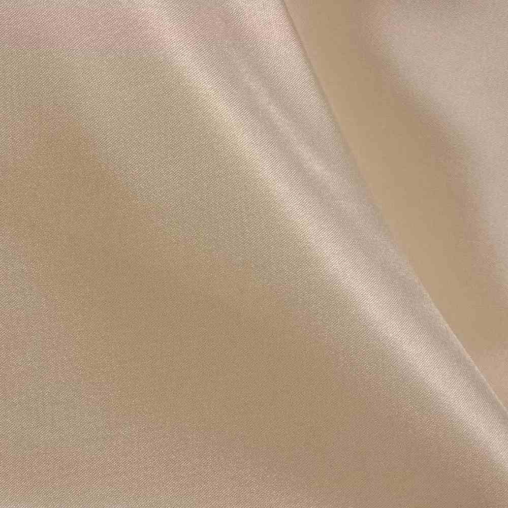 CRM / GOLD TAUPE 045 / 100% Polyester Charmeuse