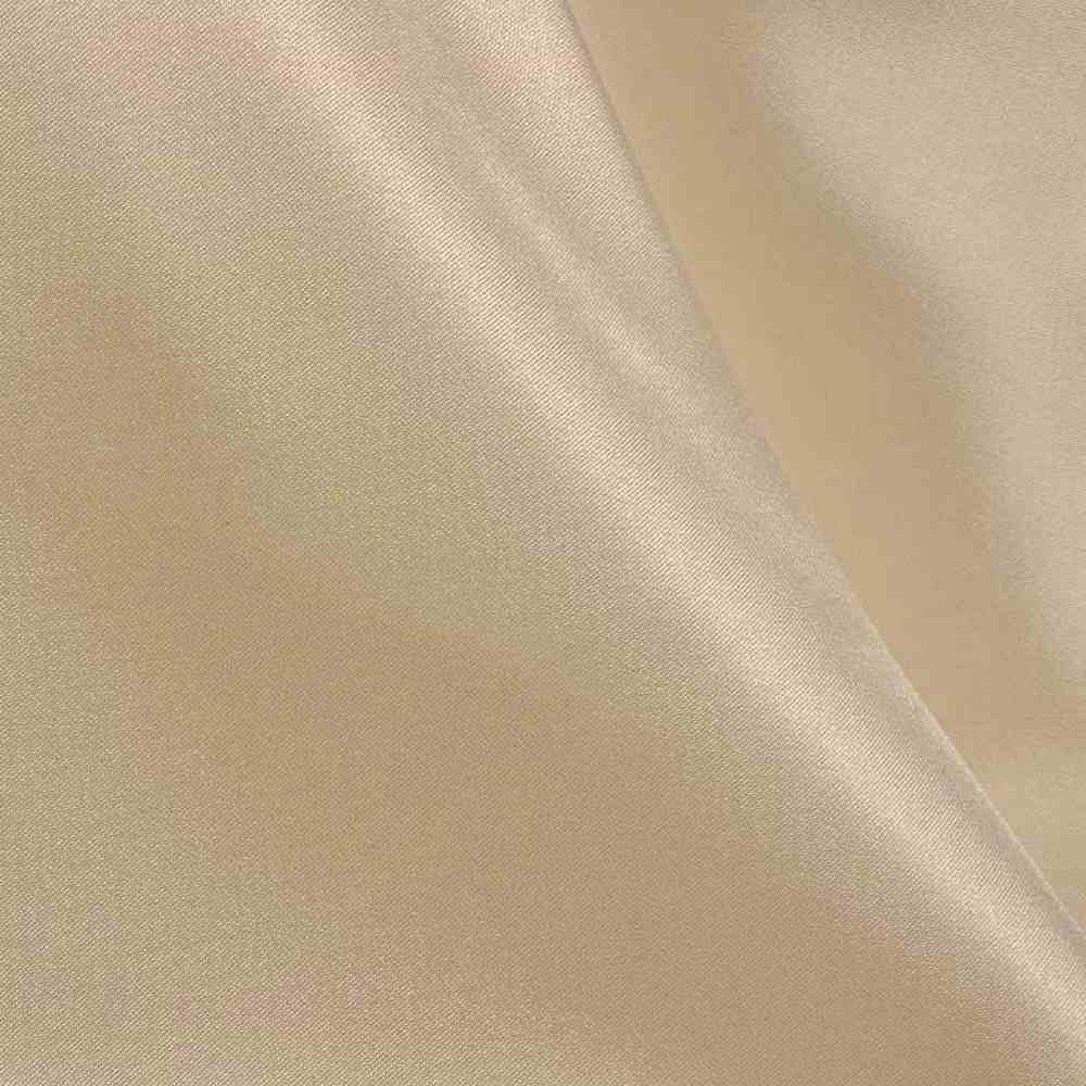 CRM / TAUPE 17 / 100% Polyester Charmeuse