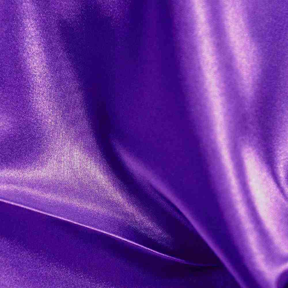 CRM / PURPLE 658 / 100% Polyester Charmeuse